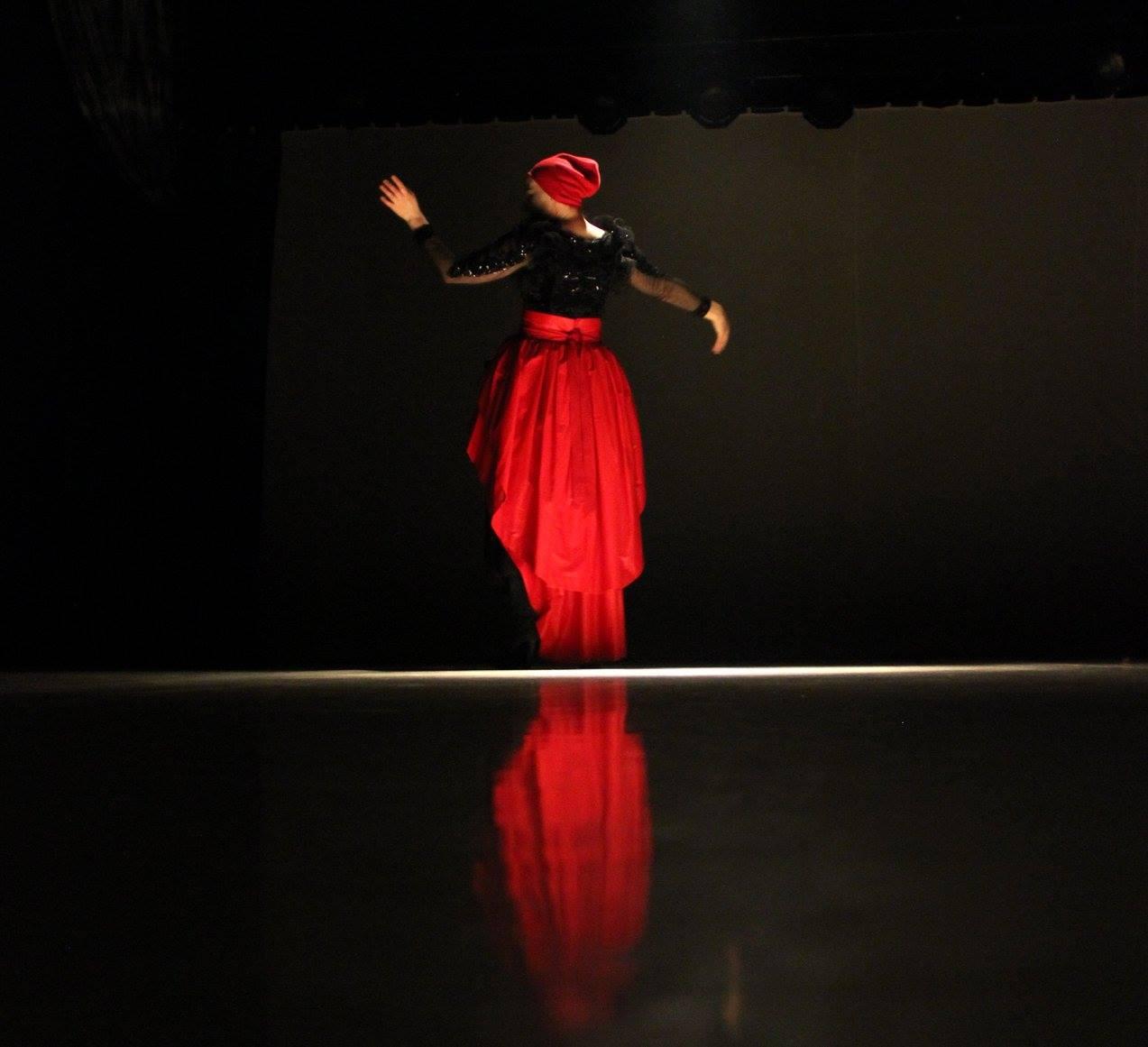 Foto einer Tanzimpression Angelika Neumann